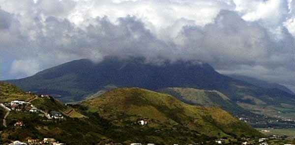 St Kitts & Nevis Ecology & Nature Mount Liamuiga