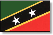 St Kitts & Nevis National Flag